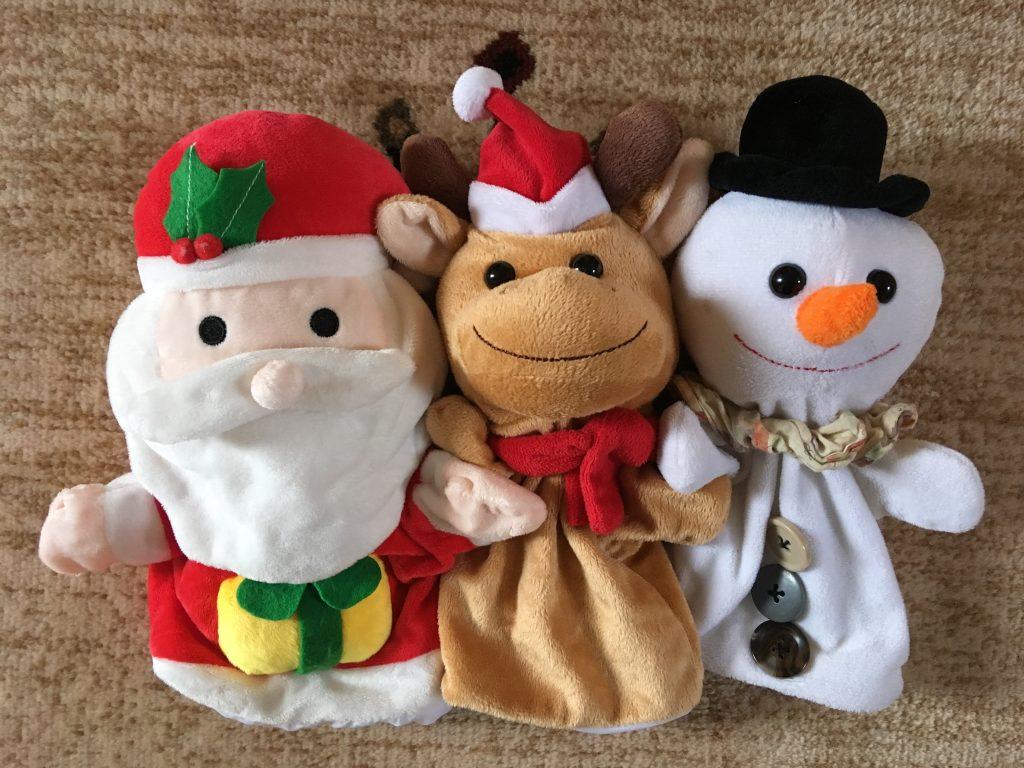 クリスマスパペット